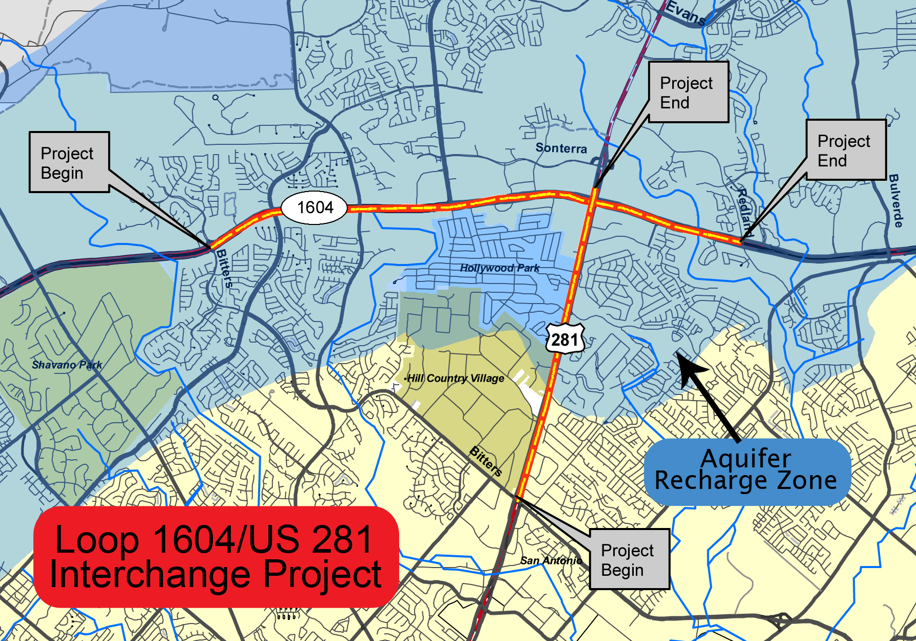 AGUA moves for injunction on US 281/Loop 1604 highway project